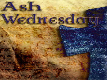 Image result for ash wednesday 2017
