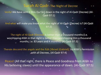 When is Laylat al-Qadr in Canada in 2016? - When is the holiday