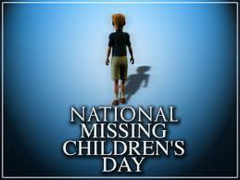 When is National Missing Children Day in United States in ...