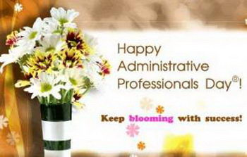 When is Administrative Professionals Day in United States ...